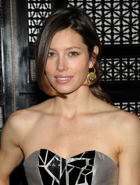 Jessica Biel at the Victor de Souza Fashion Show.